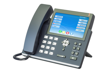 Modern IP Phone, 3D rendering